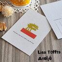 【特価】【メール便対応可能】スウェーデン製 ポストカード Lisa Tofft リサ・トフト ポストカード GIFTCARD Stackars den som satter