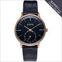 ADEXE (アデクス) 1870B-05 ユニセックス 腕時計 PETITE (プチ) 33mm ローズゴールド ダークブルー ネイビー ギフト インスタ映え..
