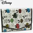 ミニーマウス ジャバラマルチケース スケッチ レディース Disney Mickey Mouse ディズニー キャラクター 手帳入れ 【RCP】