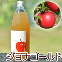 ジョナゴールド 青森県産りんごジュース 林檎ジュース ストレート 無添加 青森 1リットル 単品