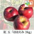 紅玉 こうぎょく ほほえみ(訳あり) 約3kg 県認証有り りんご リンゴ 訳あり 減農薬栽培 特別栽培農産物認証 青森 国産 認有り]