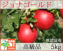 ジョナゴールド 高級品 約5kg 県認証有り りんご リンゴ 贈答用 減農薬栽培 特別栽培農産物認証 青森 国産 認有り