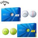 Callaway ERC SOFT ゴルフボール 2021 日本仕様 1ダース(12個入り) イー・アール・シー ソフト -キャロウェイ-