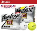 SRIXON -スリクソン-Z-STAR XV ゴルフボール US仕様2015年モデル 1ダース(12個入り)