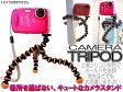ポケットサイズ!デジカメ、コンパクトカメラ用 三脚 トライポッド【TRIPOD】4色あります【あす楽対応】