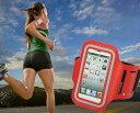 腕に巻いて使えるからジョギングなどに最適!iPhone 5専用 スポーツ アームバンド!ミニポケット付き!iPhone5用スポーツアームバンド iPhone4/4S/3G/3GS/iPod touchにも対応(送料無料)(6色選択可能)