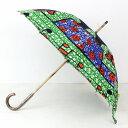 アフリカンプリント パーニュ 傘 晴雨兼用 雨傘/日傘 1705 お散歩