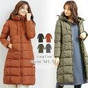 中綿ロングコート 韓国 ファッション レディース あったか おしゃれ かわいい 上品 A/W vl-5314