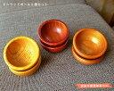 【手芸用品 ウッド雑貨】 かえで(楓)素材のミニウッドボール 2個セット 3色展開