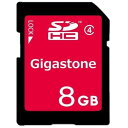 SDカード Gigastone ギガストーン 4716814070844 8GB SDHC Class4対応 条件付き送料無料 オフィス 店舗用品 【新品】 新着