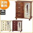 送料無料 日本製で収納が楽しめるお洒落なジュエルボックスジュエリーボックス/宝石箱/アクセサリーボックス/G-1878
