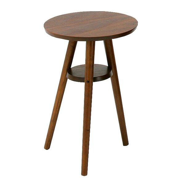 ナイトテーブル 幅40cmのウォールナットを使用したお洒落なサイドテーブル コーヒーテーブル emo EMT-1914-Ichi
