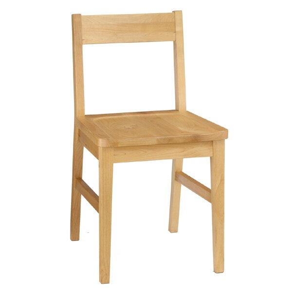 【送料無料】天然木を使用したナチュラル色のお洒落な木製チェアー木製椅子 デスクチェア セレス412チェアー