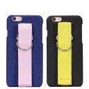 iPhone7/アイフォン7用の便利な片手もちのベルト付きの背面ハードケース