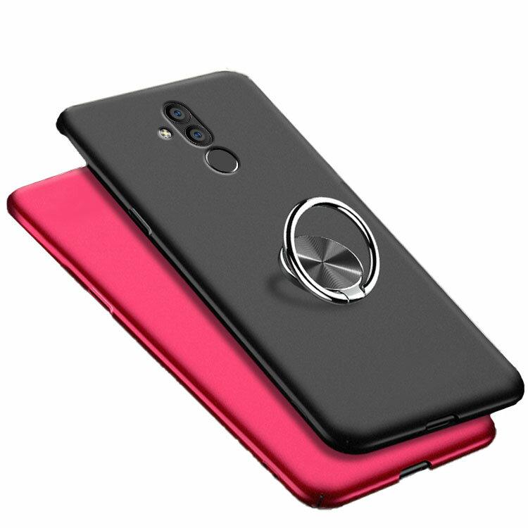 Huawei Mate20 lite ハードケース/カバー プラスチック製 スマホリング付き リングブラケット付き スリム シンプル ファーウェイ メイト20ライト ハードケース/カバー おすすめ おしゃれ アンドロイド ファーウェイ ハーウェイ ホアウェイ スマホケース/カバー