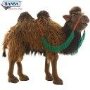 HANSA 5585 フタコブラクダ60 全長:60cm CAMEL BH5585 ぬいぐるみ ハン...