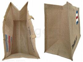 【送料無料!】TRADERJOE'S麻エコバッグトートバッグショッピングバッグロゴ入りバック買い物トレジョスーパーマーケット袋tht