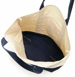【送料無料!】TRADERJOE'Sロゴ入りエコバッグトートバッグキャンバスホワイト/ネイビーショッピングバッグトレジョスーパーマーケット袋tct