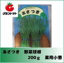 あさつき種子 野菜球根 200g 薬用小ねぎ