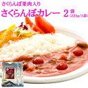 【送料無料】【メール便】 ピンクのカレー さくらんぼカレー2袋