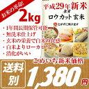 【無洗米】金芽ロウカット 玄米 2kg(2kg×1袋)(長期...