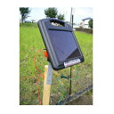 ニシデン産業 家庭菜園用 電気柵 アニマルバスター NSD-200B ソーラー 100m×2段張りセ