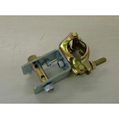 シンセイ ワイヤークランプ φ48.6mm、φ42.7mm兼用 20個入 誘引 果樹棚 テンションクランプ 単管 農業資材 ハウス資材