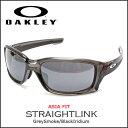 オークリー サングラス OAKLEY ストレートリンク STRAIGHTLINK アジアンフィット グレースモーク Grey Smoke/Black Iridium oky-cj