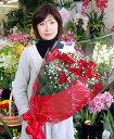 赤バラ60輪の豪華花束【smtb-KD】【あす楽対応_関東】【送料無料】【楽ギフ_メッセ入力】