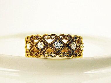 K18 ゴールド ダイヤモンド リング「 グラシ...の商品画像