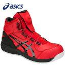 ショッピングasics アシックス 1271A030-600 安全靴 ウィンジョブ CP304 Boa クラシックレッド×ブラック