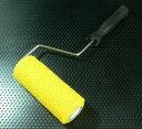 【高】印 175mm幅×78φ 柄+ローラー マスチックローラー刷毛 ワンタッチ取替式