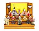 雛人形 真多呂 木目込み 高級 モダン 古今段飾り芙蓉雛10人揃 三段飾り
