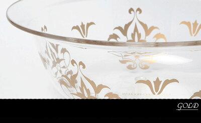 あす楽★おしゃれダマスク模様の『洗面器』★ボール単品グラマス【HLS_DU】