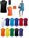 wundou ウンドウ 1810 バスケシャツ バスケットボール メンズ レディース キッズ ジュニア(p-1810)