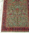 【送料無料】ペルシャ絨毯 サイズ:247×181 産地:クム 作者:Kerhhan 材質:ウール