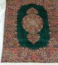 【送料無料】ペルシャ絨毯 サイズ:247×183 産地:クム 作者:Kerhhan 材質:ウール