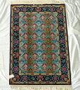 【送料無料】ペルシャ絨毯 サイズ:148×98 産地:イスファハン 材質:ウール