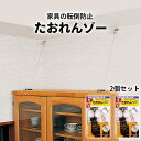 【ポイント10倍】たおれんゾー 2個セット 家具転倒防止! ...
