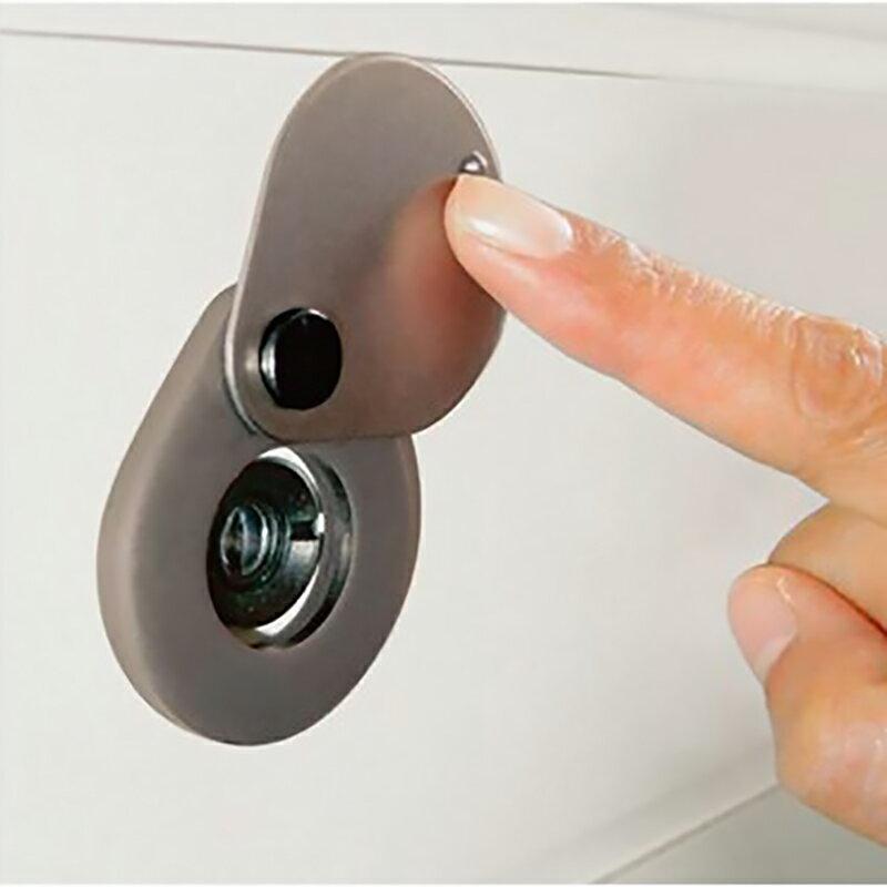 防犯グッズ 玄関ドアののぞき見防止金具 N-1257 あす楽対応商品 のぞき見防止金具 ドアスコープカバー ノムラテック