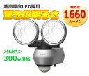 驚きの1660ルーメンでLED最高峰の明るさと省エネを兼ね備えています。 センサーライト RITEX(ライテックス)LED10W×2灯 LED-AC2020 あす楽対応商品 センサーライト 屋外用 LED AC100V 防犯グッズ