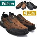 Wilson(ウイルソン)スリッポン/両側ゴム付き/ウォーキ...
