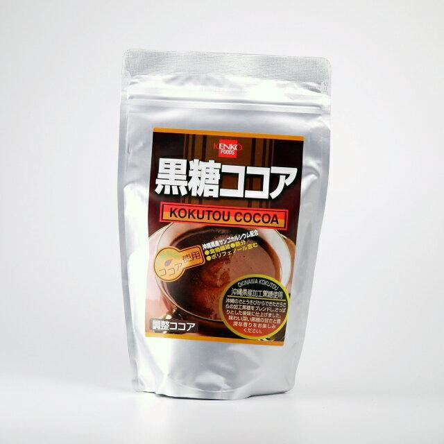 健康フーズ 黒糖ココア 300g