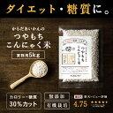 【糖質オフ!とくトク5kキャンペーン中】こんにゃく米