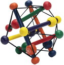 Manhattan Toy Skwish Classic Rattle and Teether Grasping Activity Toy マンハッタントーイ スクイッシュ MAN200980