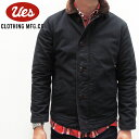 UES(�E�G�X)�f�b�L�W���P�b�g�iDeck jacket�j/Col.BLACK/Lot.901151