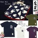 《参丸一》 サンマルイチ 懐(ぽけっと)蛙 半袖Tシャツ [ST-20207]*送料無料 雪祭り 新年会 新春ギフト♪
