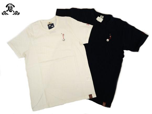 """Preparing Kurashiki workshop / warehouse, solid short sleeve T shirt crew neck (neck) set-in sleeve left wing tip embroidered""Eternal""the secular change is fun! A sturdy t-shirt! Taicang 25183 add in stock!"