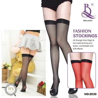 襪帶絲襪吊襪帶絲襪吊襪帶的長筒襪長襪膝蓋高日常性感內衣性感內衣純黑紅色 [y] Beileisi