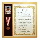 メダルと賞状と写真が入る額/賞状額/額縁/アートパネル/ポスターフレーム【OA-A4サイズ(297×210mm)・縦使い仕様】